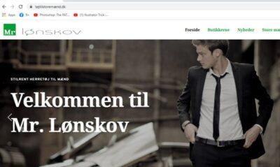 Hjemmesider er en mulighed for at informerer om dit firmas